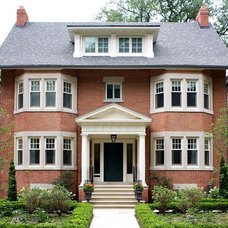 Traditional Exterior by Heintzman Sanborn Architecture~Interior Design