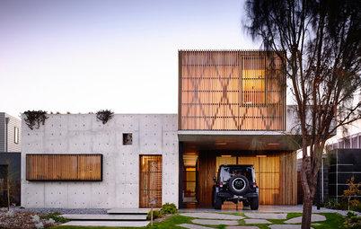 Houzz Tour: Torquay House Exhibits the Fine Art of Concrete
