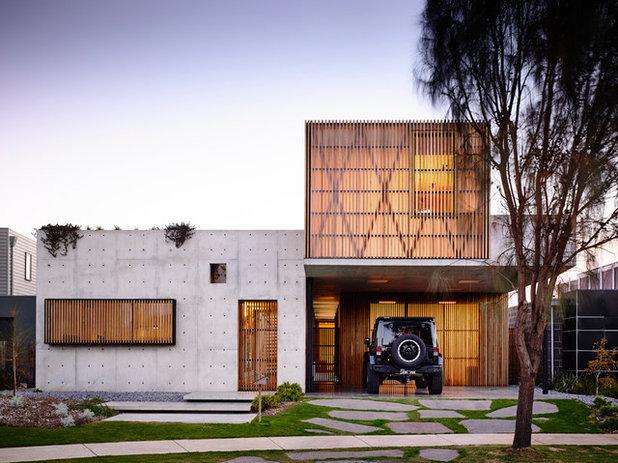 Modern Häuser by Auhaus Architecture
