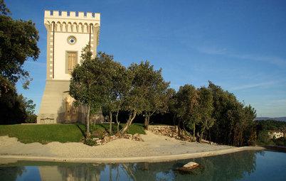 Le Case di Houzz: la Torre Affacciata sul Mare è un Viaggio nel Tempo