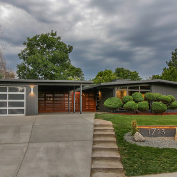 Total Home Rehabilitation of a Joseph Eichler Home, Denver, CO