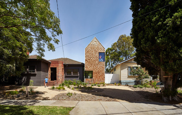 Современный Фасад дома by Austin Maynard Architects