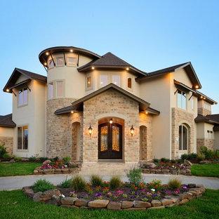 Mountain style exterior home photo in Houston