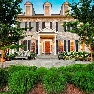 Traditioal Courtyard Entry - Great Falls VA