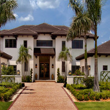 Traditional Exterior by Mitchell O'Neil, A.I.A., P.A., Architect