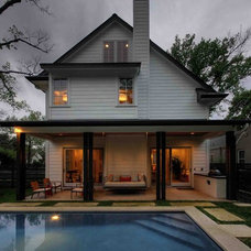 Contemporary Exterior by Butter Lutz Interiors, LLC