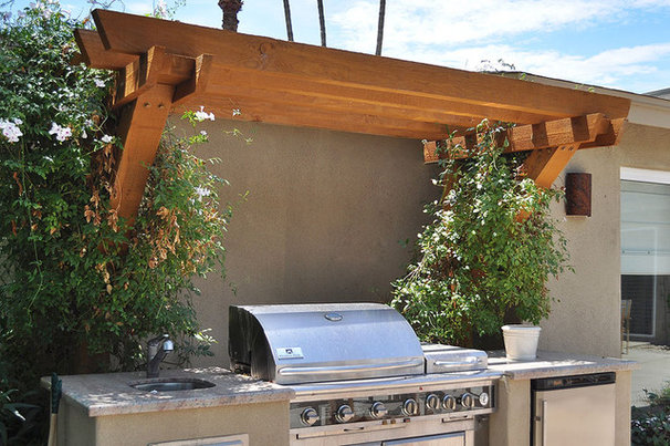 Contemporary Exterior by Pankow Construction - Design/Remodeling - PHX, AZ
