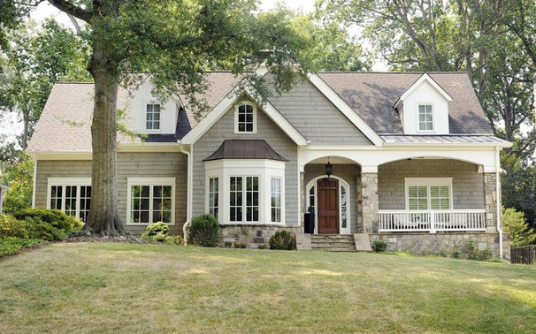 Traditional Exterior by Clark & Zook Architects, LLC