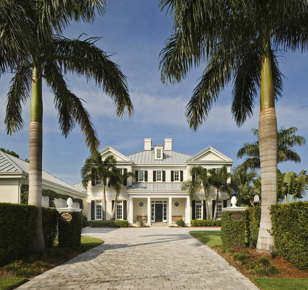 Traditional Exterior by Clifford M. Scholz Architects Inc.