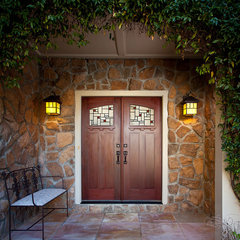 traditional exterior by Colorful Concepts Interior Design