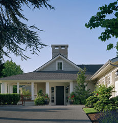 traditional exterior by Conard Romano Architects