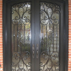 Iron Doors - Exterior - Double Iron Door
