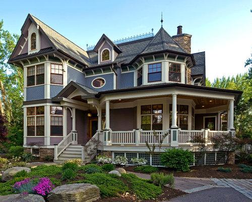 Victorian Exterior Home Design Ideas, Pictures, Remodel
