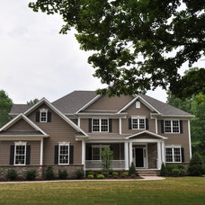 Traditional Exterior by Distinctive Domain