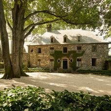 Traditional Exterior by Doyle Herman Design Associates