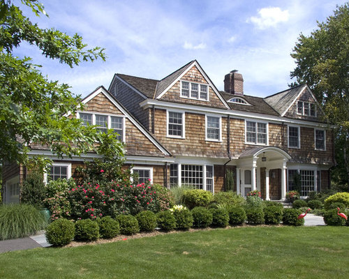 Shingle Style Coastal Nantucket Home Design Ideas