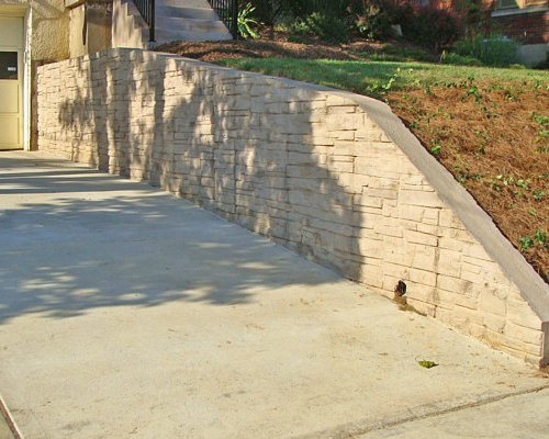 Concrete Retaining Wall Houzz