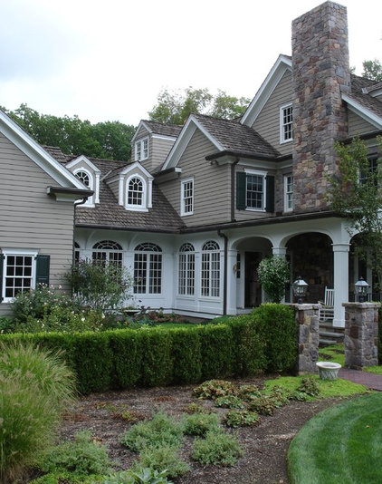 Traditional Exterior by Siegel Architects