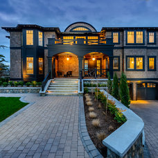 Traditional Exterior by Joshua Lawrence Studios INC