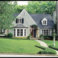 Traditional Exterior by Land Plus Associates, Ltd