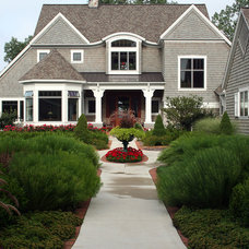 Traditional Exterior by Landscape Design Services