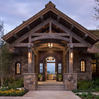 Storm Mountain Ranch House Rustic Exterior Denver