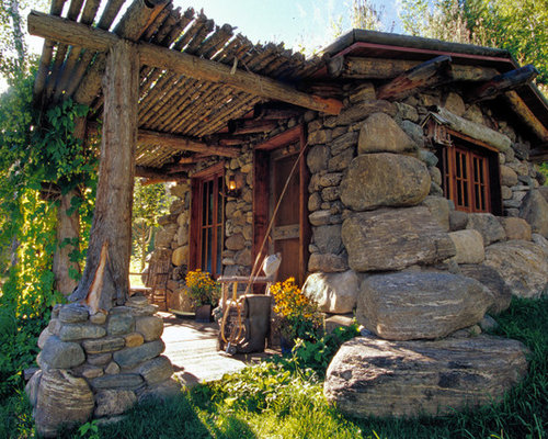 Rock house ideas pictures remodel and decor for Rock home decor