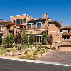Traditional Exterior by Pinnacle Architectural Studio