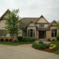 Traditional Exterior by Regency Builders Inc.