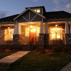 Traditional Exterior by Richard Cable, ASID, RID, AIDC, NCIDQ Certified