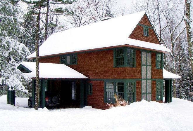 Farmhouse Exterior Traditional Exterior