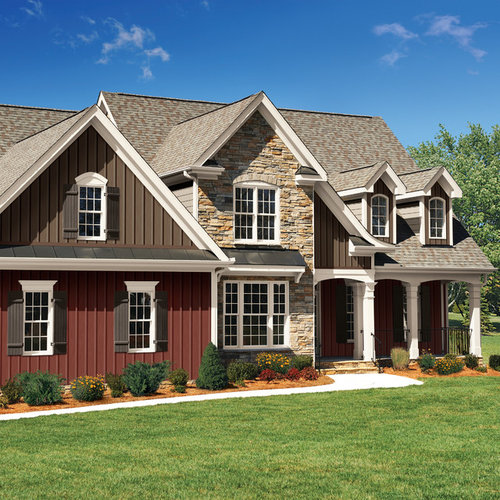 Board and batten siding exterior design ideas remodels photos Exterior board and batten spacing