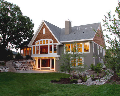 Walkout basement landscaping home design ideas pictures for Walkout basement backyard ideas