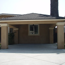 Traditional Exterior by Los Angeles Remodeling and Construction