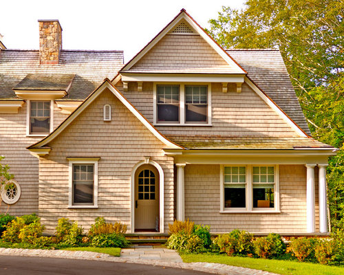 Shingle style cottage houzz for Shingle style cottage