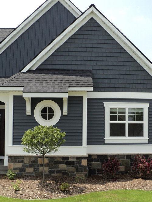 Vinyl shake siding home design ideas pictures remodel for House siding designs