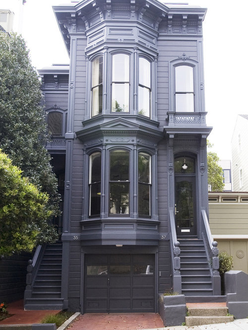 Victorian facade houzz for Double storey victorian homes