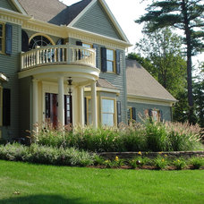 Traditional Exterior by UBLA Site Planners & Landscape Architects