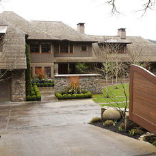 Traditional Exterior by Whitney Lyons
