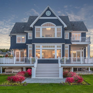 75 Beautiful Blue Exterior Home Pictures Ideas Houzz