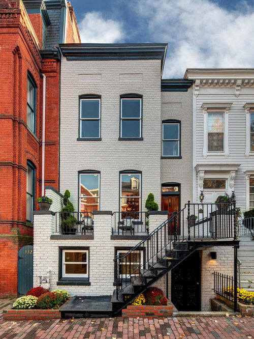 Small Row House Ideas, Pictures, Remodel And Decor