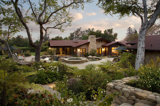 Traditional Exterior by Becker Studios