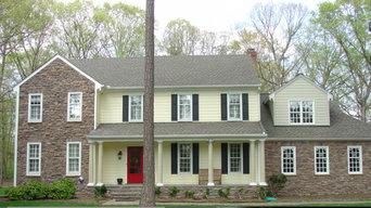 Traditional Home Exterior Renovation