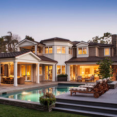 Traditional Exterior by Tomaro Design Group