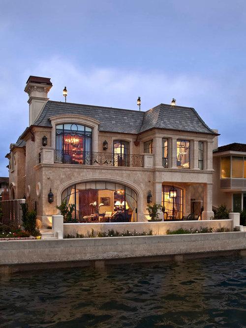 Mansard Roof Brick House Houzz