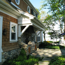 Traditional Exterior by Gary Nance Design