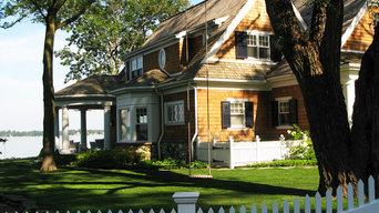 Traditional Lake House