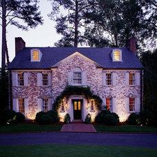 Traditional Exterior by Outdoor Lighting Perspectives - Birmingham, AL