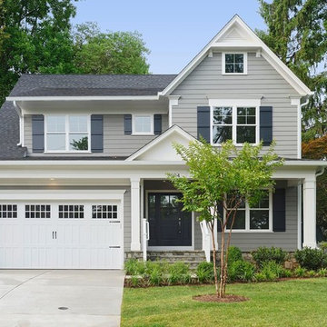 Traditional New Home in Bethesda by Meridian Homes Inc