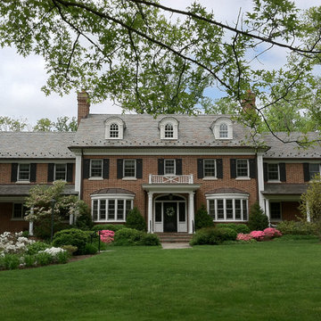 Traditional Red-Brick Colonial